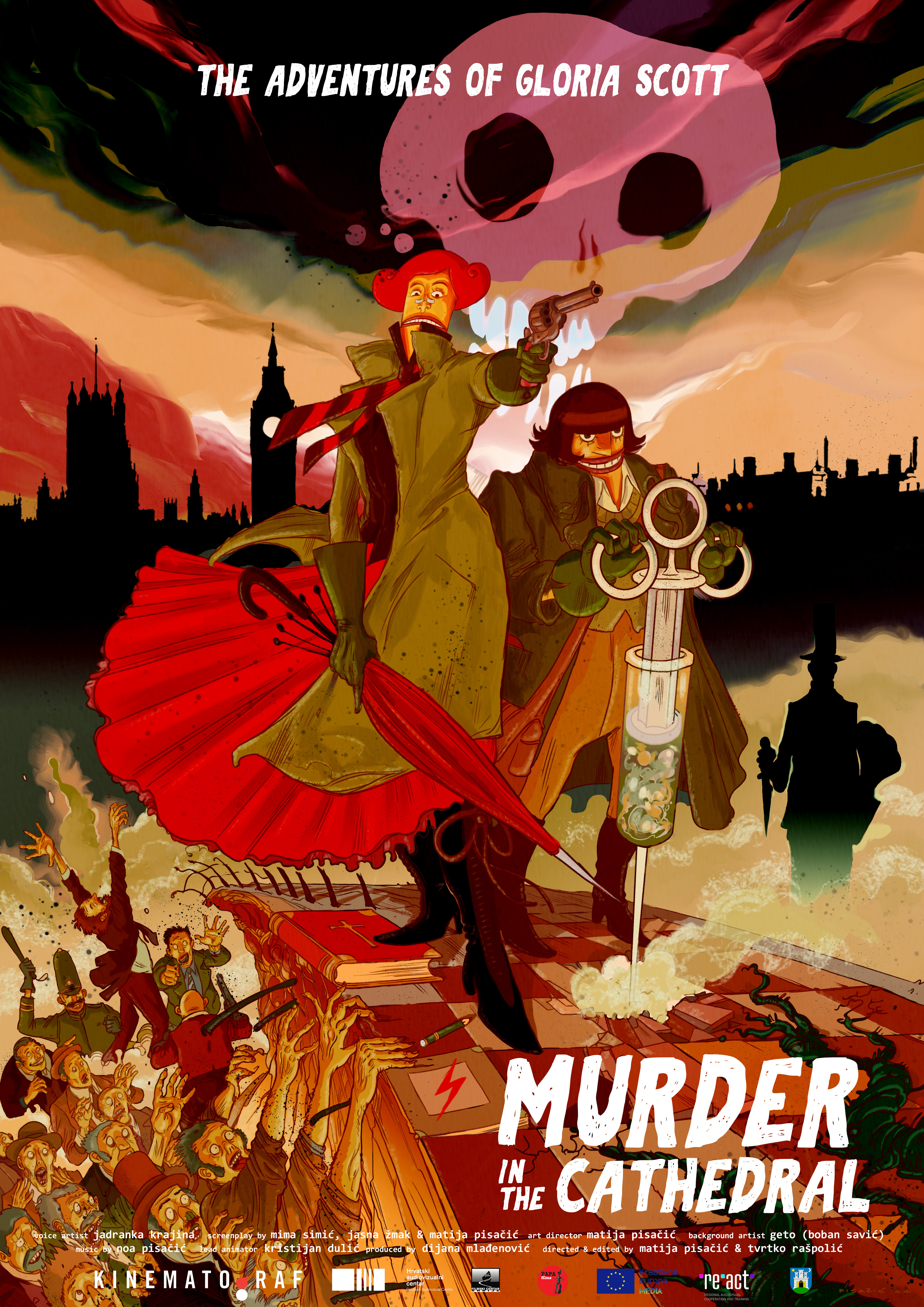 poster Gloria Scott - Murder in the Cathedral