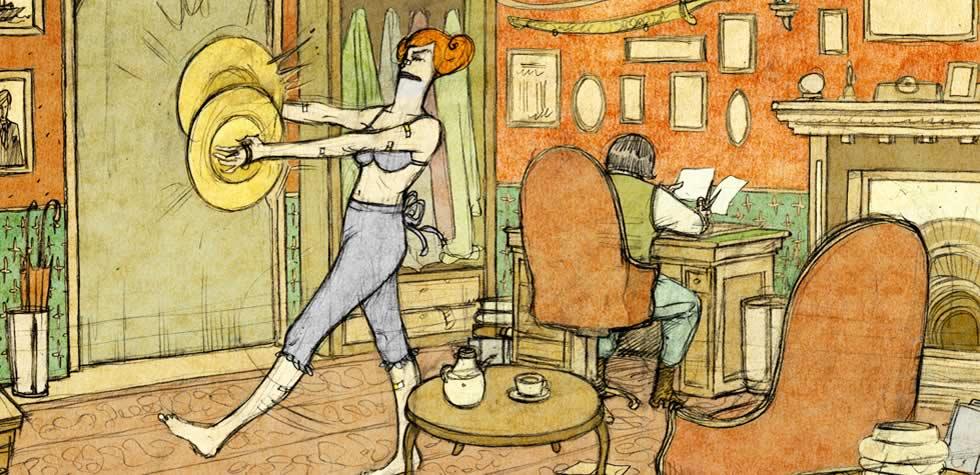 PUSTOLOVINE GLORIJE SCOTT, animirana serija